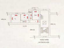 Planimetria Via Porcellana 13 - Porcu