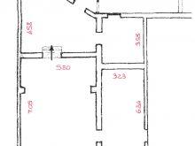 Planimetria Via Spano - Misure